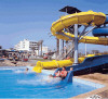 Adams Beach Hotel, water slides, great fun for all the family, click to enlarge