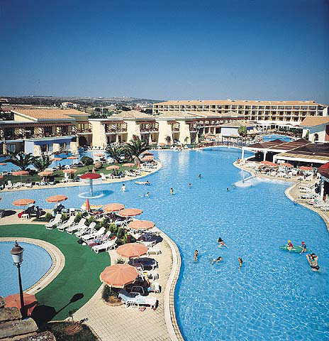 Aeneas Hotel In Ayia Napa With The Largest Swimming On Island Click To Enlarge