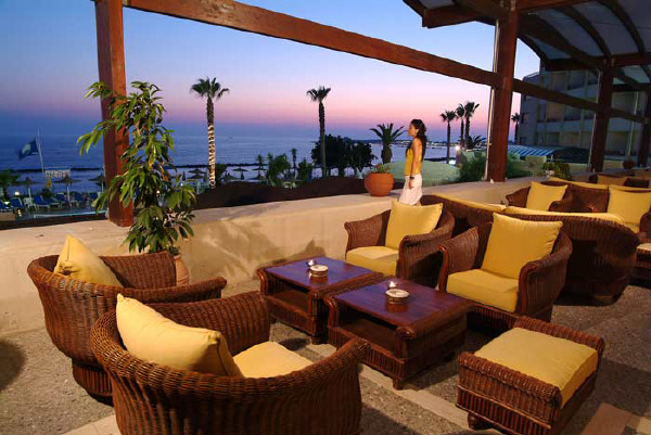 Alexander the great hotel paphos for The terrace bar