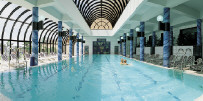 Amathus Beach Indoor Pool, click to enlarge photograph.