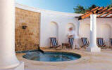 The Outdoor Jacuzzi at the Anassa Hotel