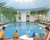 Apollonia Beach Hotel indoor swimming pool, click to enlarge this photoghraph