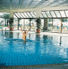 Indoor Swimming Pool at the Athena Beach Hotel Paphos. Click to enlarge this photograph