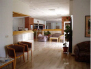 The lobby, reception of the Blue Crane Apts Lemesos