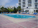 Relax by the pool in the sun at the Blue Crane Apts Limassol