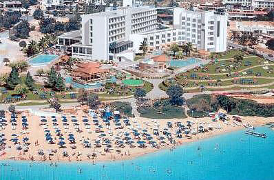 Capo Bay Hotel In Protaras Fig Tree Bay Click To Enlarge This Photograph