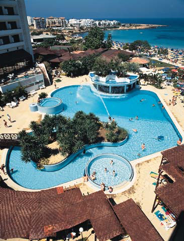 Capo Bay Swimming Pool In Protaras Fig Tree Bay Click To Enlarge