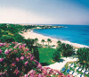 Coral Bay's Sandy Beach next to the Coral Beach Hotel 5 star in Paphos, click to enlarge this photograph