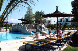 Elia Latchi Holiday Village Swimming Pool with Sun Beds