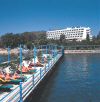 Elias Beach Hotel Limassol, photograph of the hotel and pier, click to enlarge this photograph