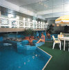 Elias Beach Hotel Indoor Pool, Click to enlarge this photograph