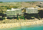 The Grecian Bay Hotel set on the Golden Sand Beach of Ayia Napa