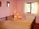 One of the bedrooms at the Jubilee Hotel, Troodos, Cyprus