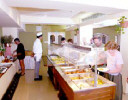 Enjoy the buffet when staying at the Nelia Hotel