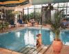 Indoor Pool at the Palm Beach Hotel in Larnaka. Click to enlarge this photograph