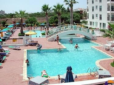 Relax By The Pool At The Paramount Hotel Apartments In Protaras