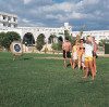 Phaethon Beach Hotel archery, click to enlarge this photograph