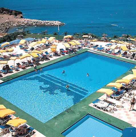 Queens Bay Beach Hotel In Paphos Cyprus
