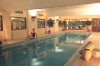 Swim in the cooler months too in the Indoor Swimming Pool at the Sandy Beach Hotel in Larnaka, Cyprus. Click to enlarge this photograph