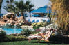 Soak in the Sun at the Sandy Beach Hotel in Larnaka, Cyprus. Click to enlarge this photograph